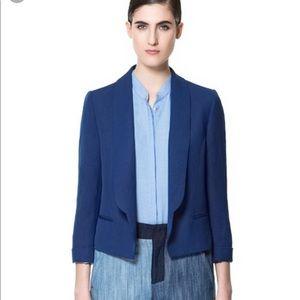 Zara blue blazer